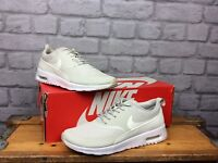 NIKE AIR MAX LADIES UK 5 EU 38.5 THEA LIGHT BONE SAIL WHITE TRAINERS RRP £95