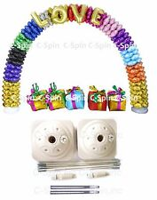 Huge 23ft Balloon Arch Base Stand Kit Wedding Birthday Party Decoration Supplies