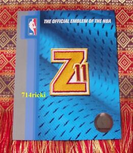 Official NBA Cleveland Cavaliers Zydrunas Ilgauskas Z11 Retirement small patch