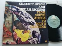 GIL SCOTT-HERON & BRIAN JACKSON - From South Africa To South Carolina 1975 SOUL