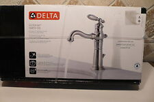 Delta Victorian Brilliance Stainless (Match Brushed Nickel) Faucet, MD #15955-SS