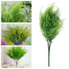 7Branches Artificial Asparagus Fern Grass Plant Flower Home Floral AccessorY GTA