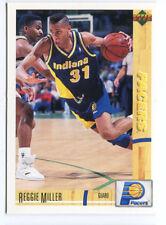 1993 Upper Deck French McDonald's #22 Reggie Miller Pacers carte NBA Basketball