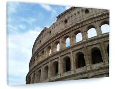 STUNNING ROMAN COLOSSEUM CANVAS PICTURE PRINT CHUNKY FRAME #4060