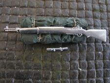 WWII M1 M1D Garand US Army Gewehr Zielfernrohr Metal RC Panzer Deko Zubehör 1/16