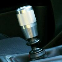 """SSCO KR-3 3"""" 580 GRAMS STAINLESS STEEL KNURLED SHIFT KNOB WEIGHTED 12x1.25mm"""