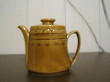 Vintage Honey Color Teapot