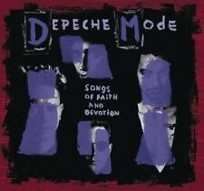 DEPECHE MODE - SONGS OF FAITH AND DEVOTION  2 CD  INTERNATIONAL POP  NEUF