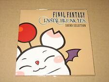 Final Fantasy Chrystal Chronicles Sound Selection Not for Sale Jpn Version Rare