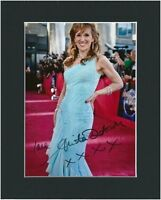 ANITA DOBSON HAND SIGNED PHOTO MOUNTED AUTOGRAPH + COA EASTENDERS ANGIE