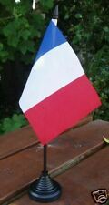 """French Hand Flag 6x4"""" France Francais Wine Champagne Paris Rugby Football Sports"""