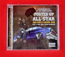 Posted Up At The All Star [PA] Presented by Swishahouse Rap CD + Bonus DVD