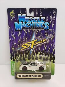 Muscle Machines SS Tuner '00 Nissan Skyline GTR White HTF