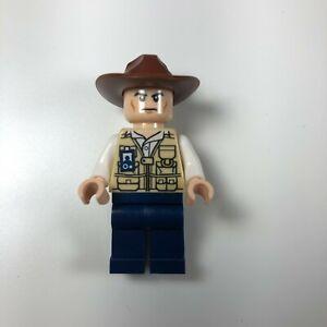 LEGO Jurassic World Vet Hat Fedora Minifigure