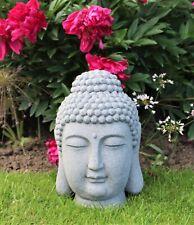 Garden Ornament Buddha Head Decorative Outside 61cm Large Patio