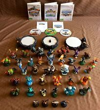 Wii SKYLANDERS BUNDLE ~ SPYRO'S | GIANTS | SWAP FORCE ~ 3 PORTALS ~ 39 FIGURES