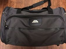 Samsonite Black Carry on Canvas Bag Luggage Tote Business  20 x 12 EUC