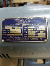 Three phase motor 1/2 hp, 5/8 shaft