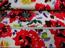 Markenlose Stoffreste Handarbeitsstoffe mit Blumenmuster