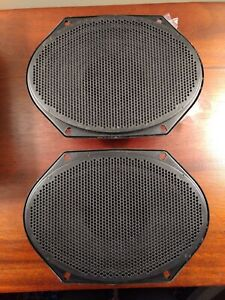 Ford OEM Radio Speaker Kit Assortment F3UF-18814-AA Light Gray Grilles