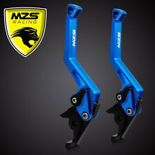 MZS Brake Clutch Levers Short For Yamaha YZF R6 2005-2012 YZF R1 2004-2008 Blue