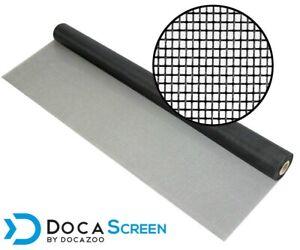 "DocaScreen Fiberglass Window Porch and Patio – 36"" x 50' Mesh Screen Roll"