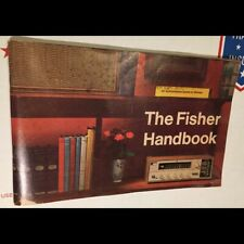 Original 1968 The Fisher Handbook - a great catalog of vintage Stereo HiFi equip