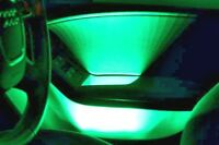 GREEN INTERIOR DECORATIVE  LED CAR BACK LIGHTING BRIGHT NEON MOOD LIGHTS