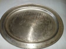 """Pottery Barn - Large Stainless Steel Serving Tray - 21"""" x 17"""" Service $99"""