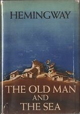 """THE OLD MAN AND THE SEA-1ST/1ST WITH SCRIBNER'S """"A"""" & COLOPHON WITH $3.00 D/J!"""