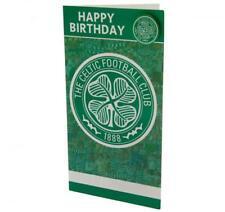 Celtic FC Birthday Card Club Crest Badge Licensed Brand New Fast Dispatch