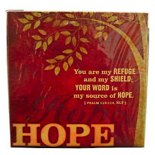 Inspirational Hope Tree Canvas Print 12 x 12 x 1 inches