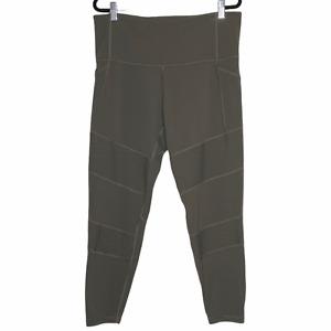 Athleta Inclination Moto Tight Legging Activewear Yoga Pants Green Size 1X