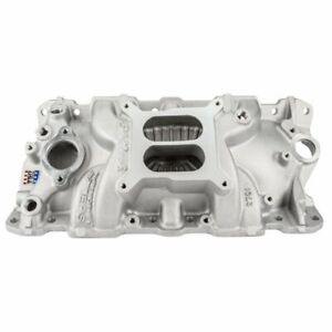 Edelbrock 2701 Performer EPS Intake Manifold for Small Block Chevy