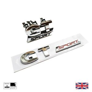 GT Sport Grill And Boot Badge Set For VW Golf Mk5