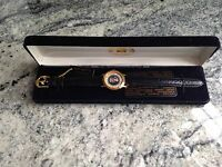 1990 Seal Of The President Of The United States Watch. New in Box 18k Gold Plate
