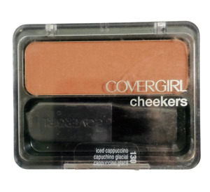 1x Covergirl Cheekers Blush Sealed #130 Iced Cappuccino, 0.12 oz Each