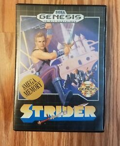 Strider for Genesis - Complete in Box