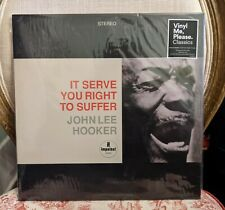 John Lee Hooker - It Serve You Right To Suffer, VMP Vinyl Me Please, 2017, NEW