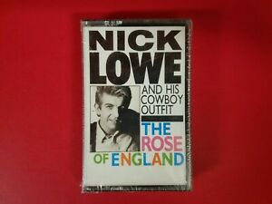 Nick Lowe And His Cowboy Outfit The Rose Of England  Import CASSETTE NEW Sealed