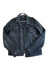 HELMUT LANG Mens Gray Denim Jacket Large