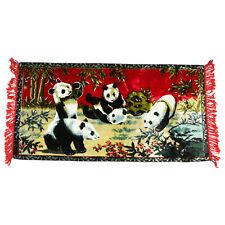 PANDA BEAR TAPESTRY Too Cute! Asian Pandas Cub Family Fabric Wall Art