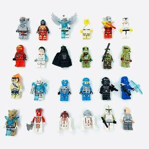 Lego Figures Star Wars Legends of Chima Ninjango Rare *Select* Minifigure Free P