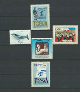 Tonga Mini MINT NH Collection 5 Different Pictorial Stamps Worth $42.50 ScottVal
