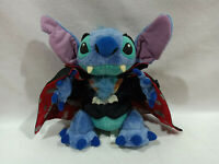 Rare Disney Store Japan Stitch Vampire Dracula Plush Toy Doll 9.5""