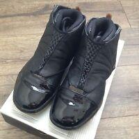 Nike Air Jordan XVI 16 3/4 Hi Original OG 2001 Black/Varsity Red Men's Size 10.5