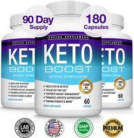 Keto Diet Pills BOOST CUTS- Weight Loss Fat Burner Supplement for Women & Men