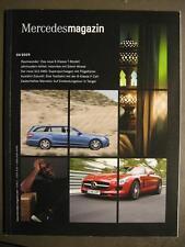 MERCEDES magazine 04/2009 - E-classe t-modèle Edwin Moses la nouvelle sls AMG B-Klass