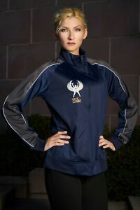 Women Of Combat Track Jacket-Small