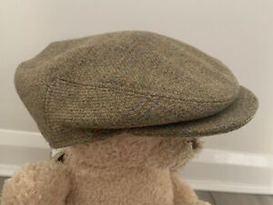 NEW Lawrence & Foster Hand Tailored Wool Flat Cap 7.5 Peaky Blinders Yorkshire